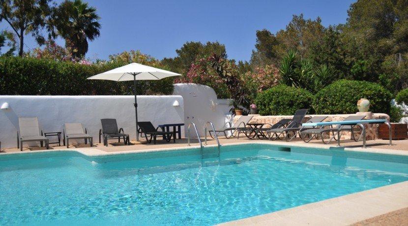 313-Villa Rent-8 rooms Cala Pada Ibiza-16