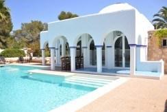 313-Villa Rent-8 rooms Cala Pada Ibiza-19